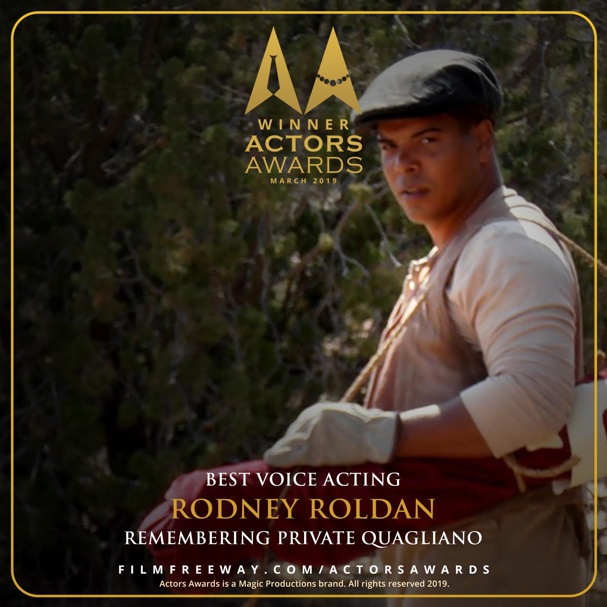 Remembering Private Quagliano design