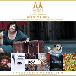 Actors Awards 2018 - Beate Malkus