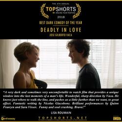 Deadly in Love - Best Dark Comedy