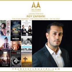 Actors Awards 2018 - Roy Zafrani