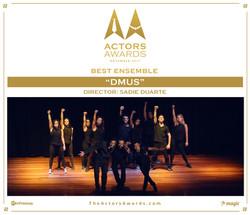 DMUS 2017 11 Best Ensemble