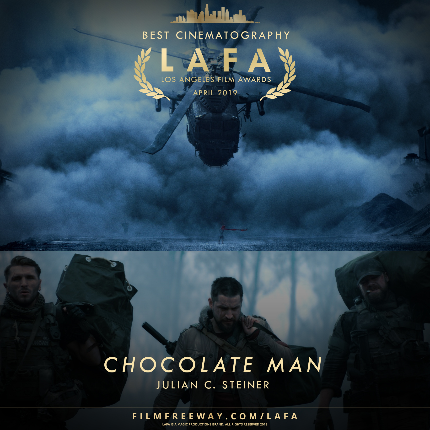 CHOCOLATE MAN design