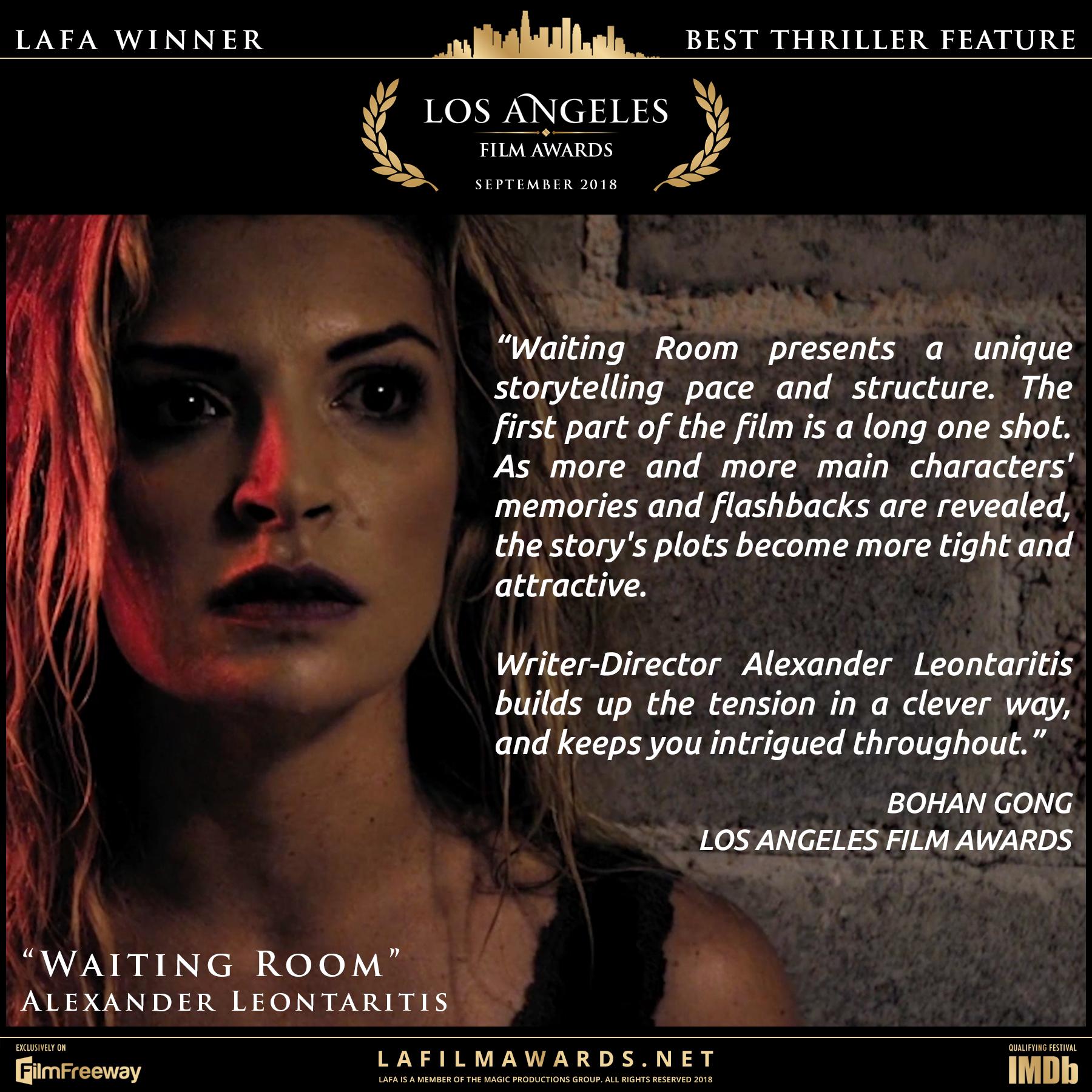 Waiting Room - LAFA Best Thriller Featur