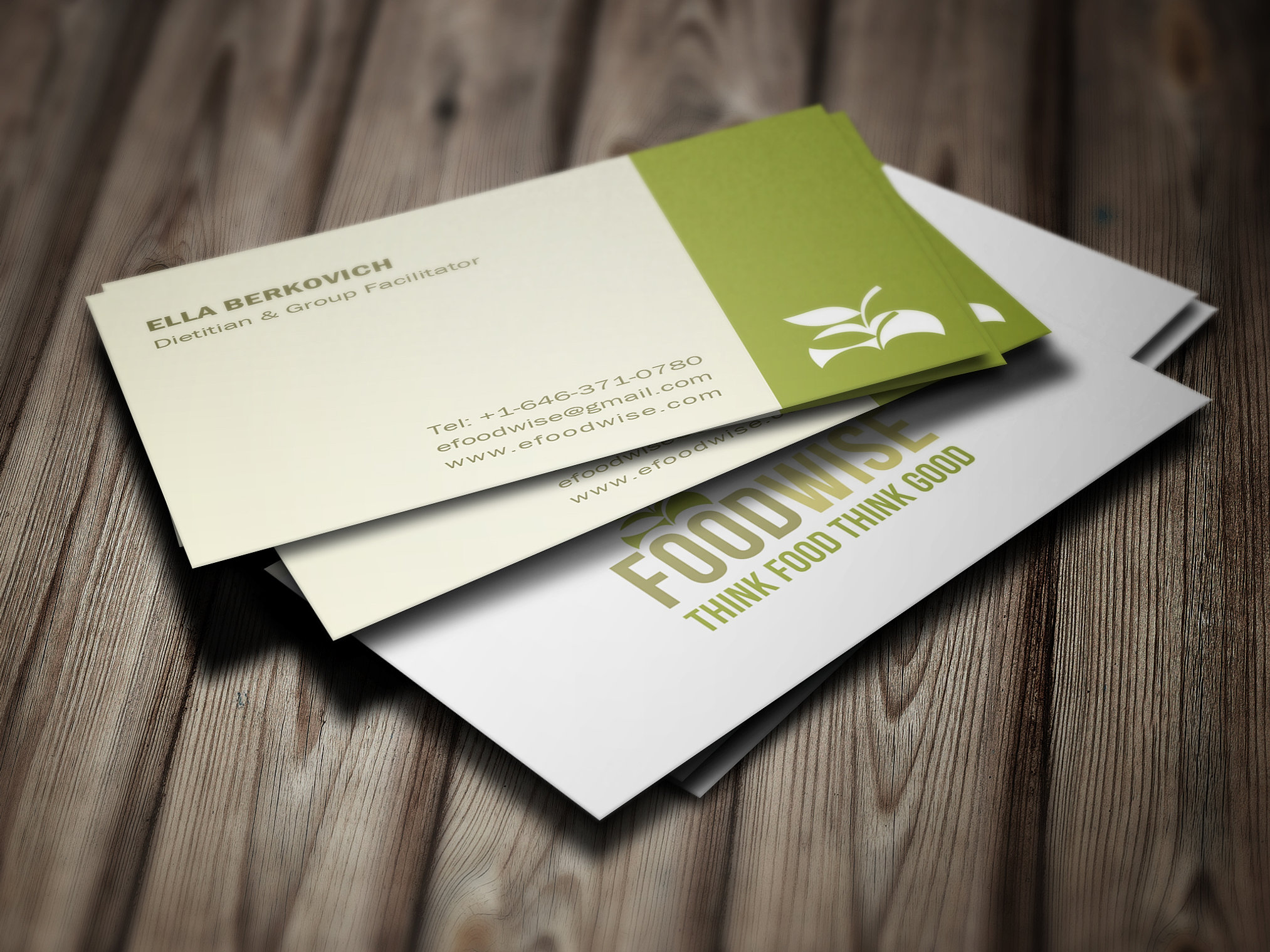 magic productions business card design