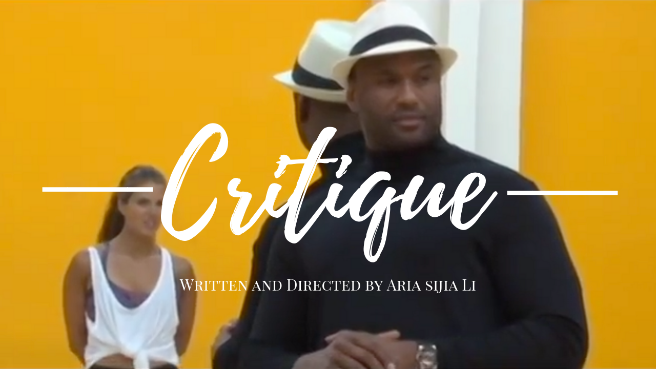 Critique_ Poster