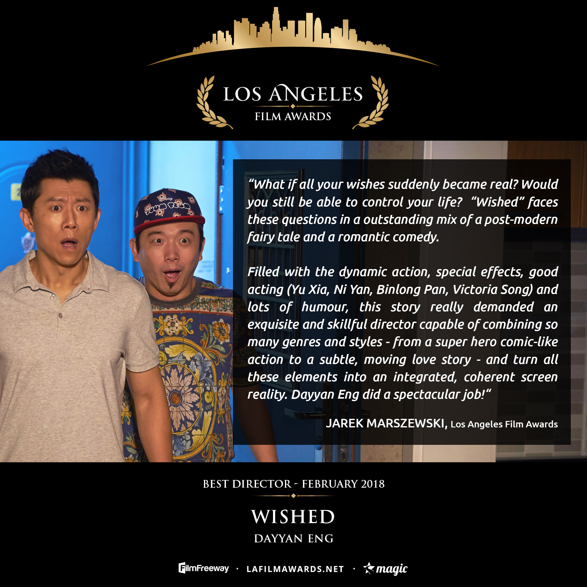 WISHED - LAFA Best Director - Review