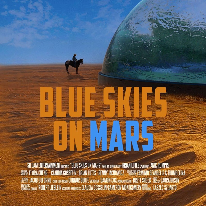 Blue Skies On Mars