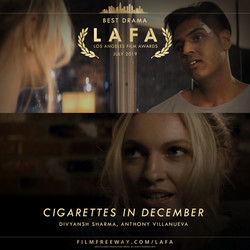 CIGARETTES IN DECEMBER design