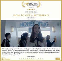 2018 06 Best Indie Film - How To Get A Boyfriend