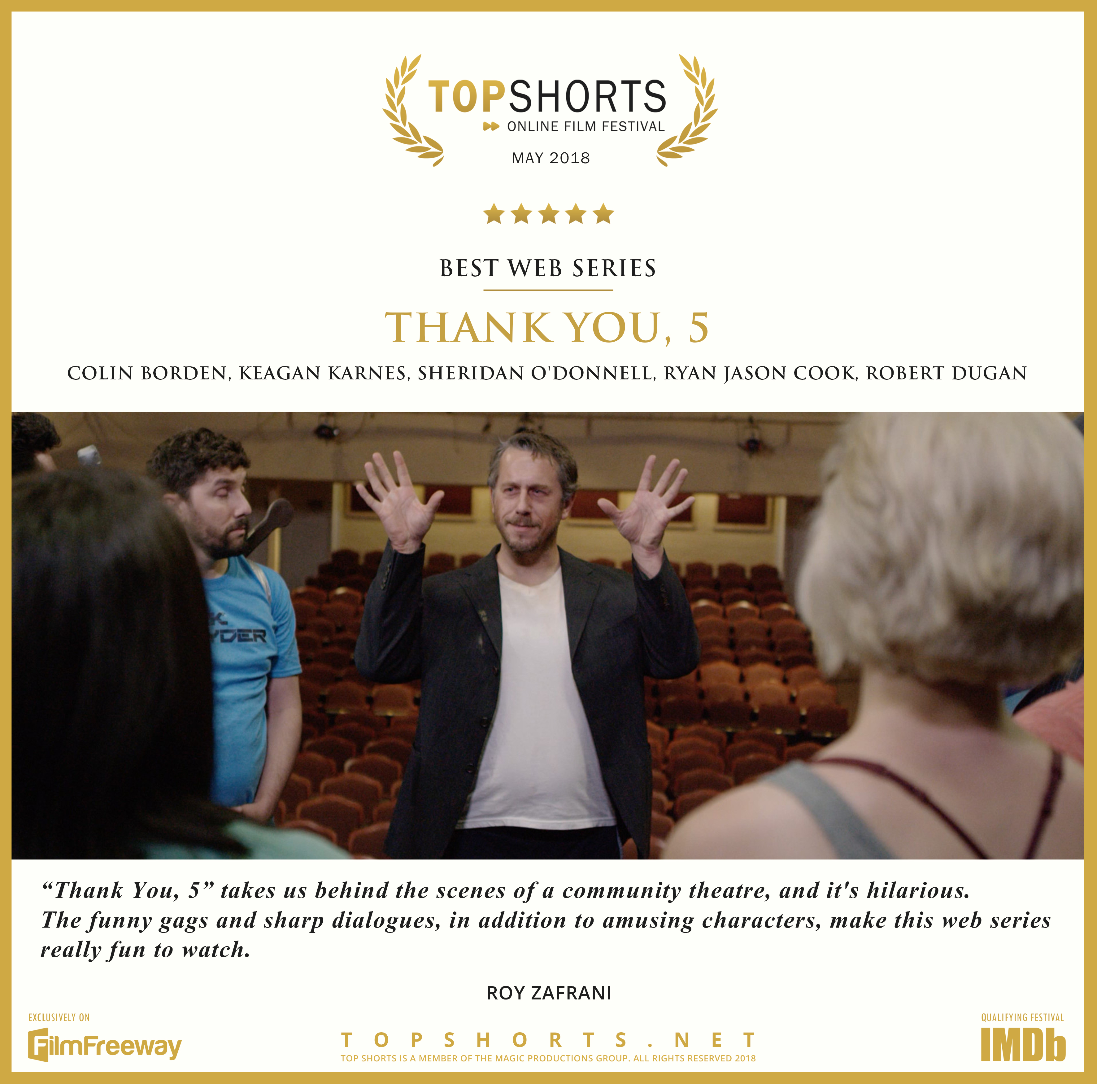 2018 05 Best Web Series - Thank You 5