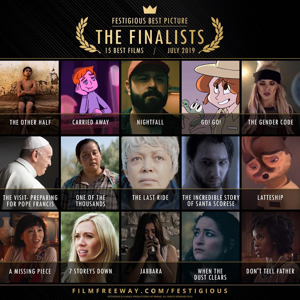 Festigious Finalists