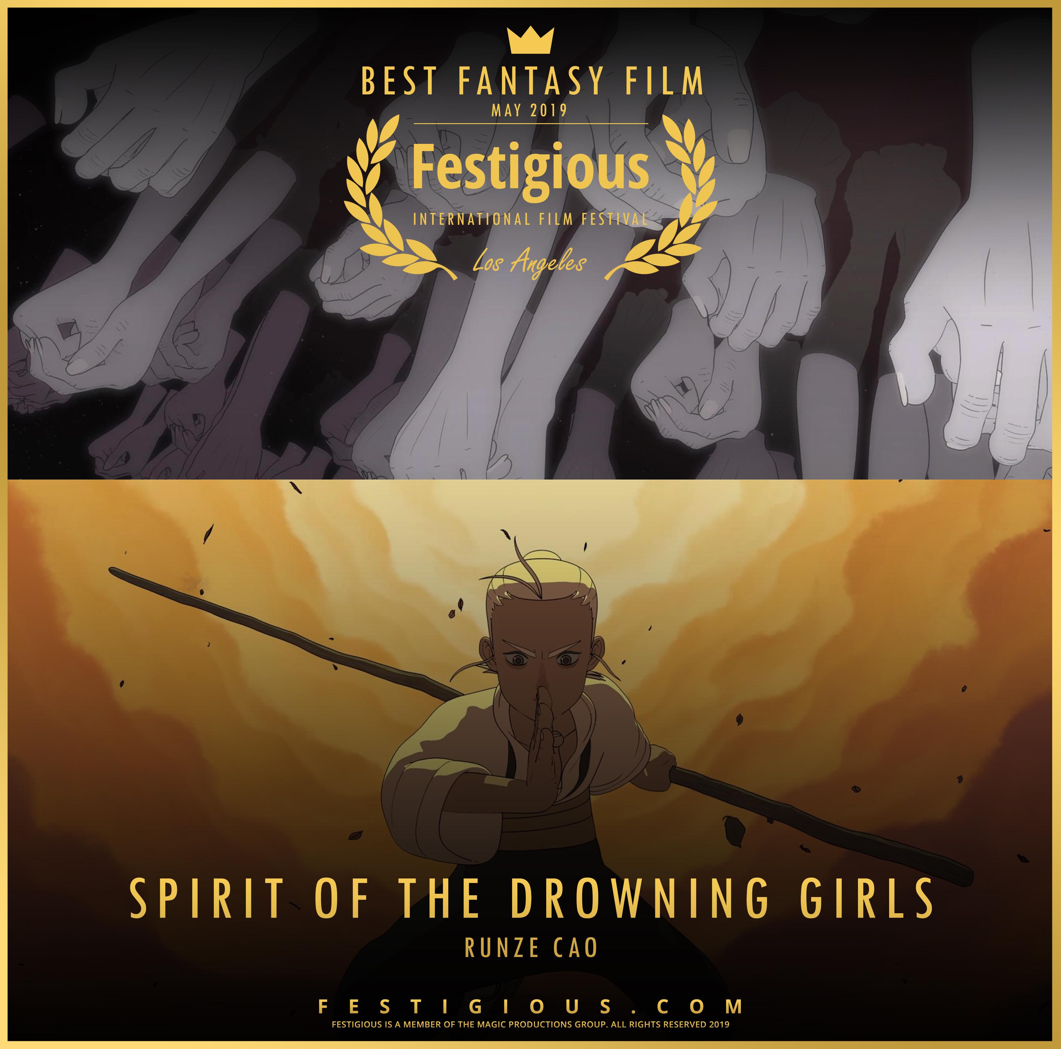 SPIRIT OF THE DROWNING GIRLS design