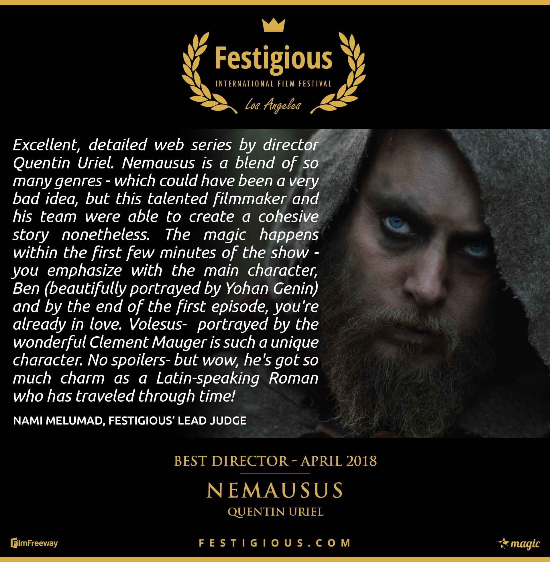 NEMAUSUS - Best Director