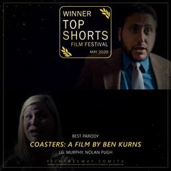 Coasters- A Film by Ben Kurns design