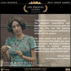 Judith & Holofernes - LAFA Best Indie Sh