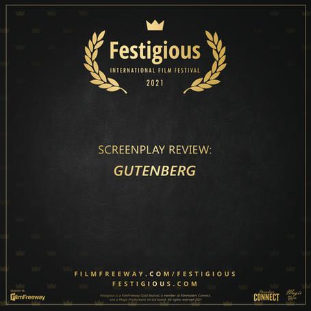 Screenplay Review: Gutenberg