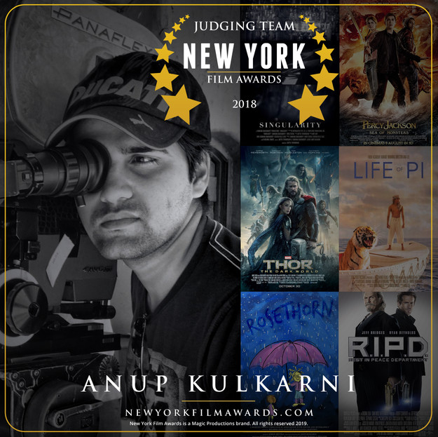New York Film Awards 2018 Annual Anup Ku