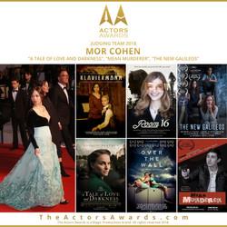 Actors Awards 2018 - Mor Cohen
