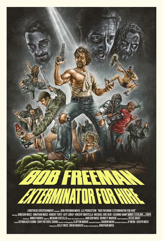 BOB FREEMAN- EXTERMINATOR FOR HIRE