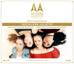 Reckless Juliets 2017 12 Best Ensemble