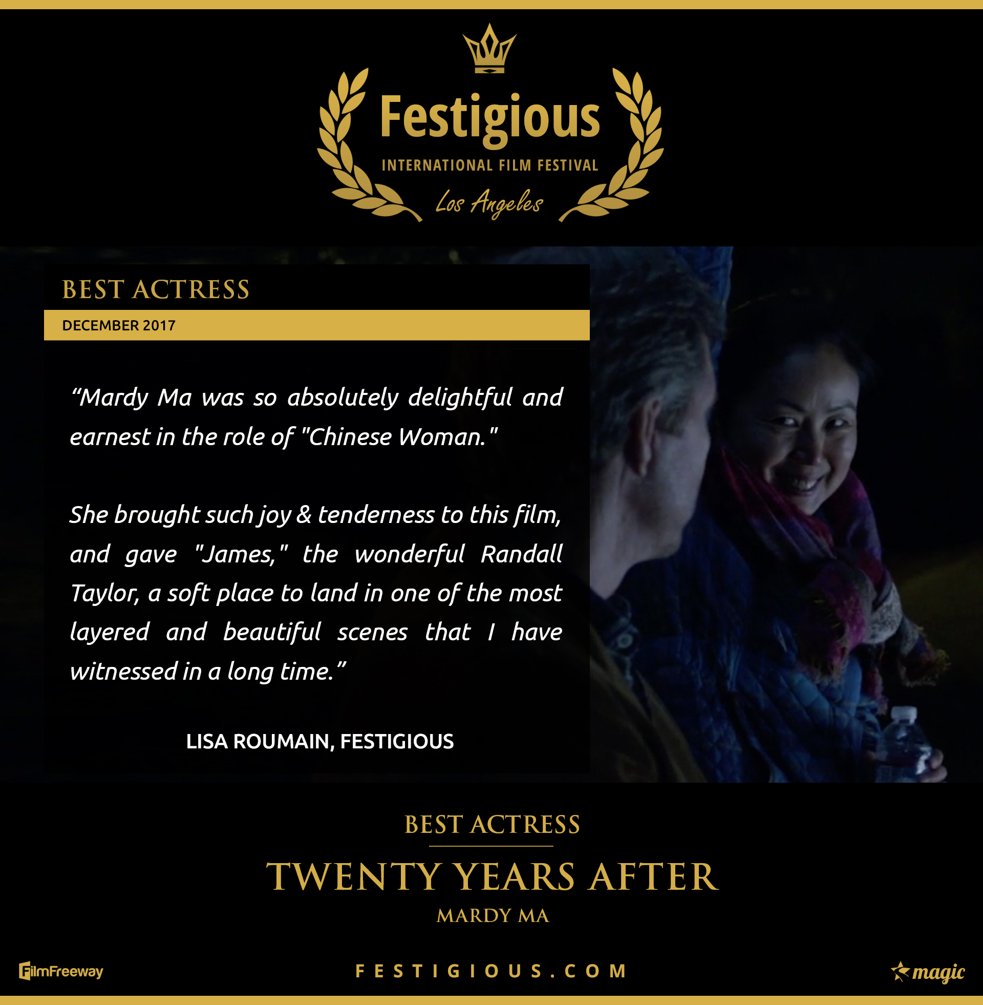 Twenty Years After - Festigious Best Actress - 2017 12