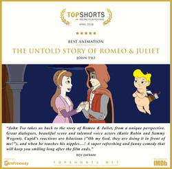 2018 04 Best Animation - The Untold Story of Romeo and Juliet