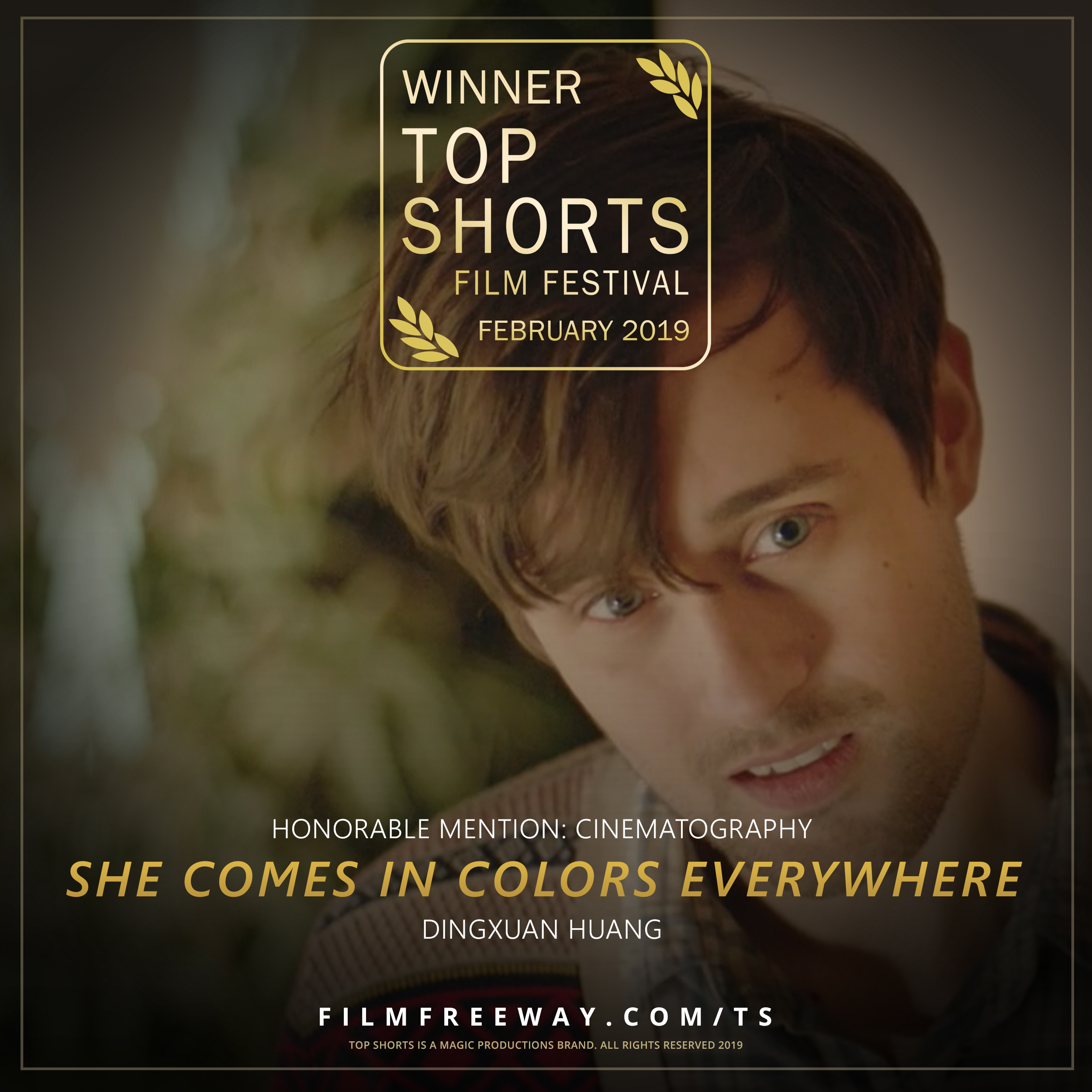 SHE COMES IN COLORS EVERYWHERE design