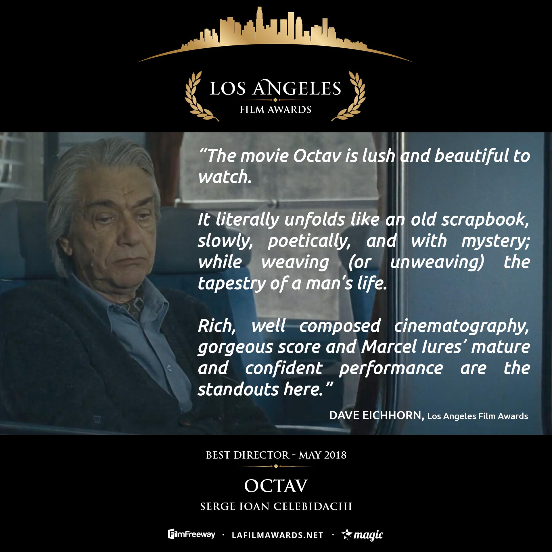 OCTAV - LAFA Best Director - Review