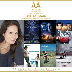 Actors Awards 2018 - Lisa Roumain