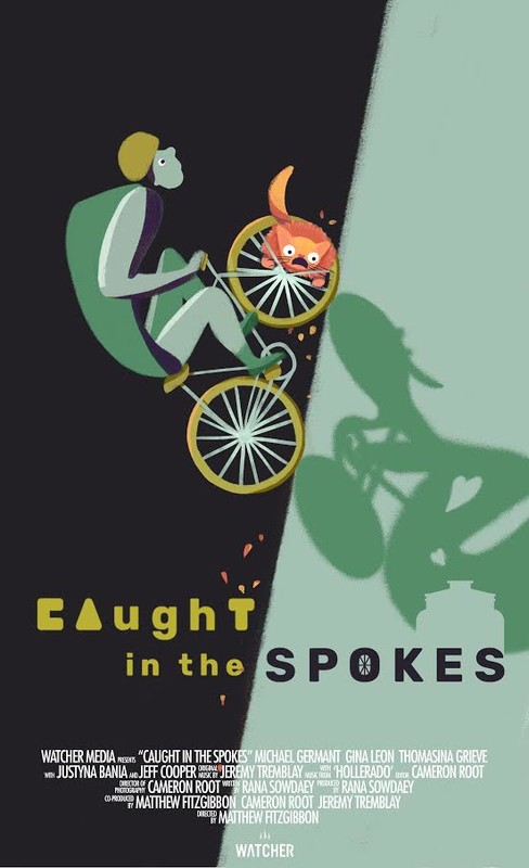 Caught in the Spokes
