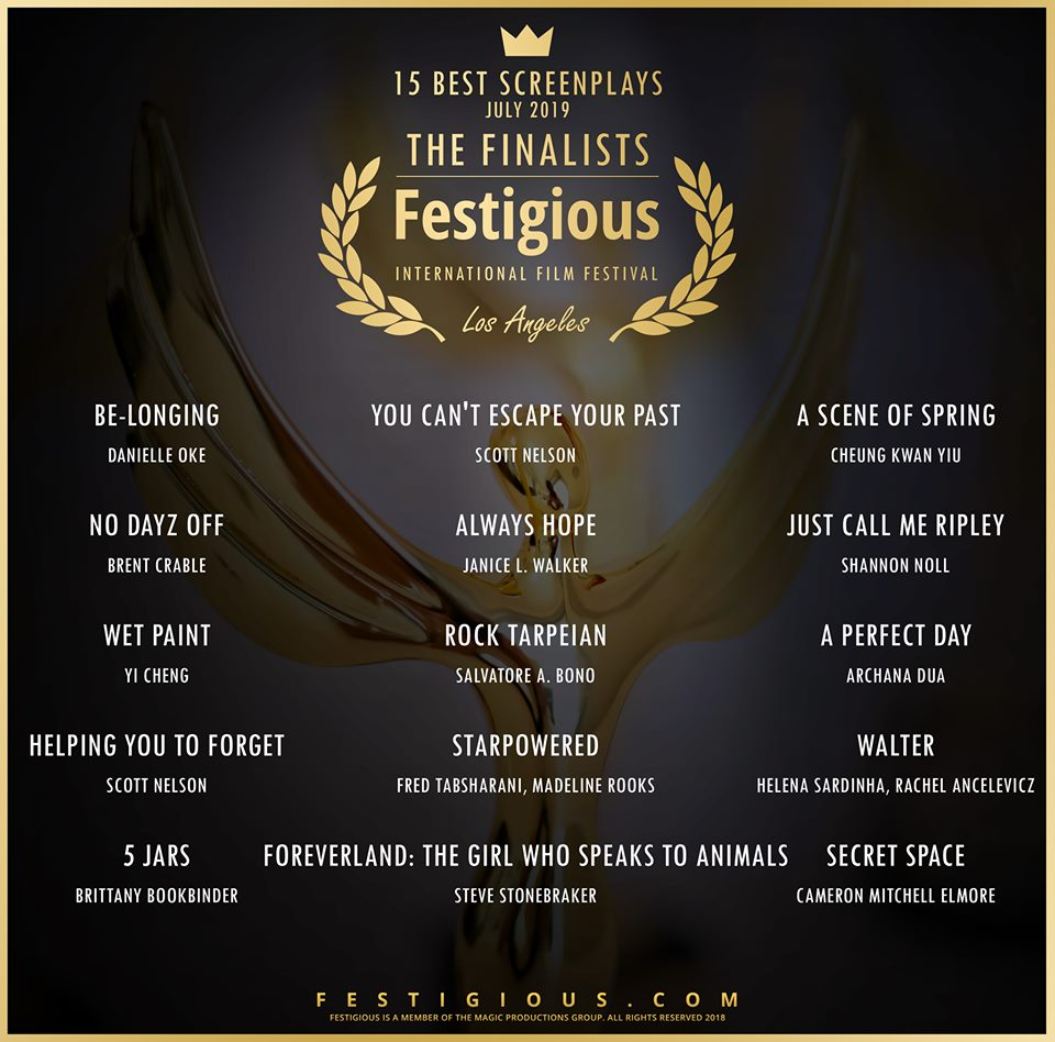 Festigious Screenplay Finalists