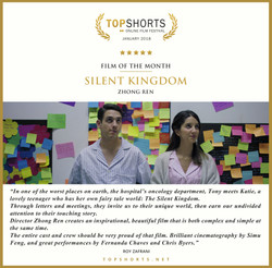 2018 01 Film of the Month - Silent Kingdom