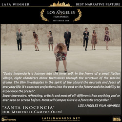 SANTA INOCENCIA - LAFA Best Narrative Fe