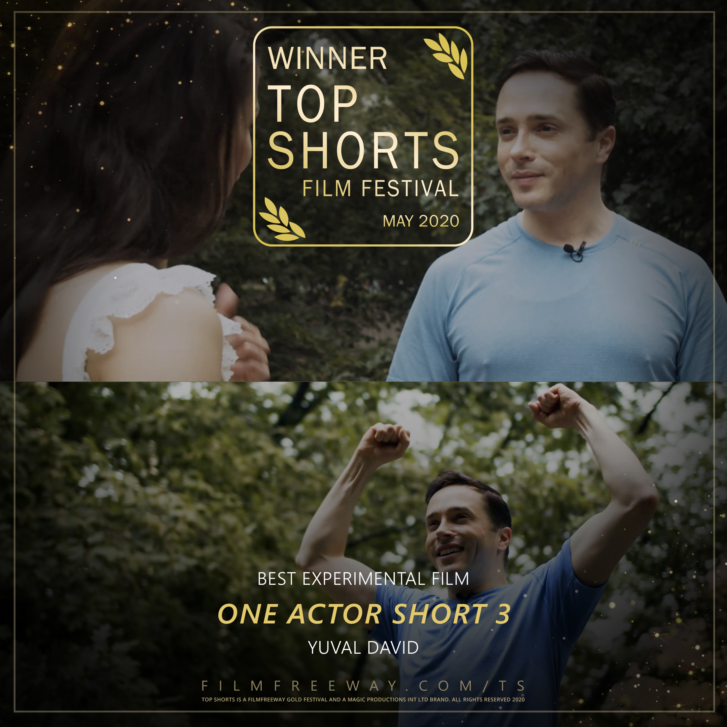 One Actor Short 3 design