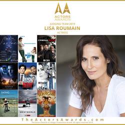 Actors Awards 2019 - Lisa Roumain