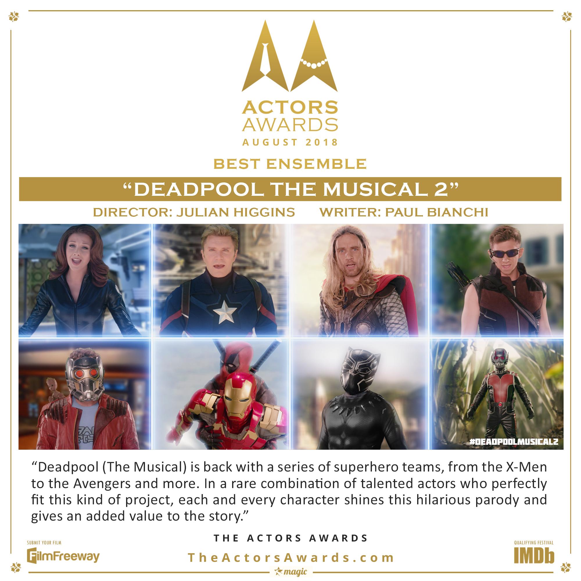Deadpool The Musical 2 2018 08 Best Ense