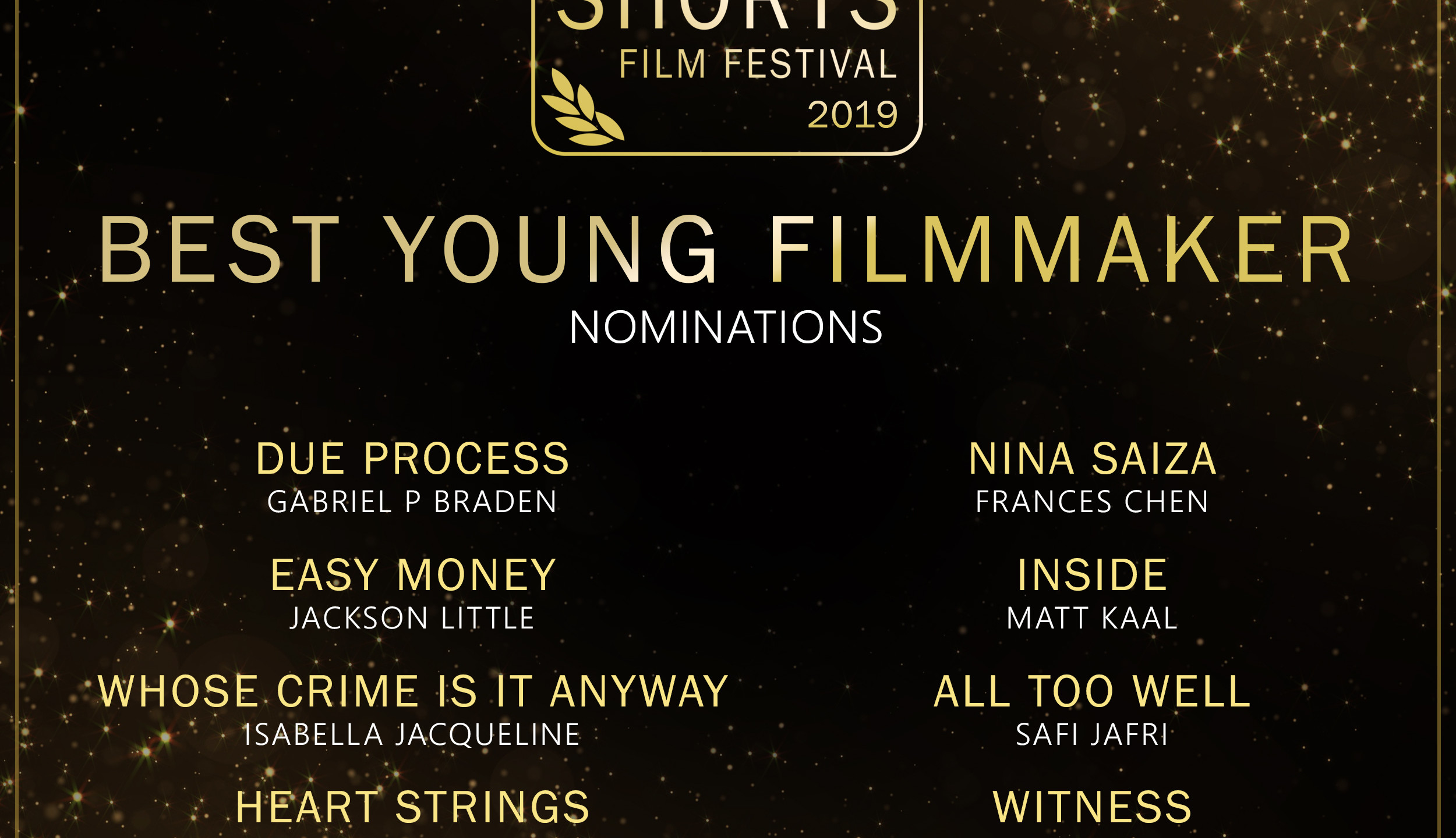Young Filmmaker