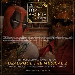 Deadpool The Musical 2 design 2