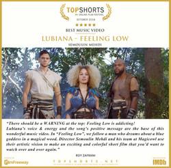 2018 10 Best Music Video - Lubiana - Fee