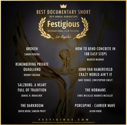 Festigious Best Documentary Short