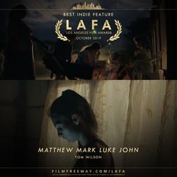 Matthew Mark Luke John design
