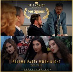 Pajama Party Work Night design