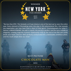 CHOCOLATE MAN review