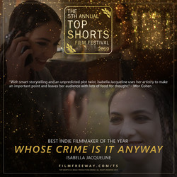 WHOSE CRIME IS IT ANYWAY design