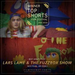 LARS LAME & THE FUZZBOX SHOW design