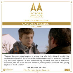 Tell Him - Best Young Actor