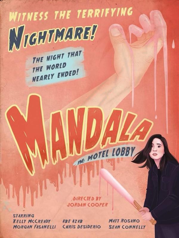 Mandala in- Motel Lobby