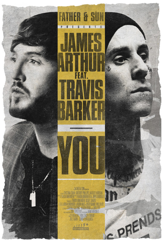 James Arthur feat. Travis Barker - You