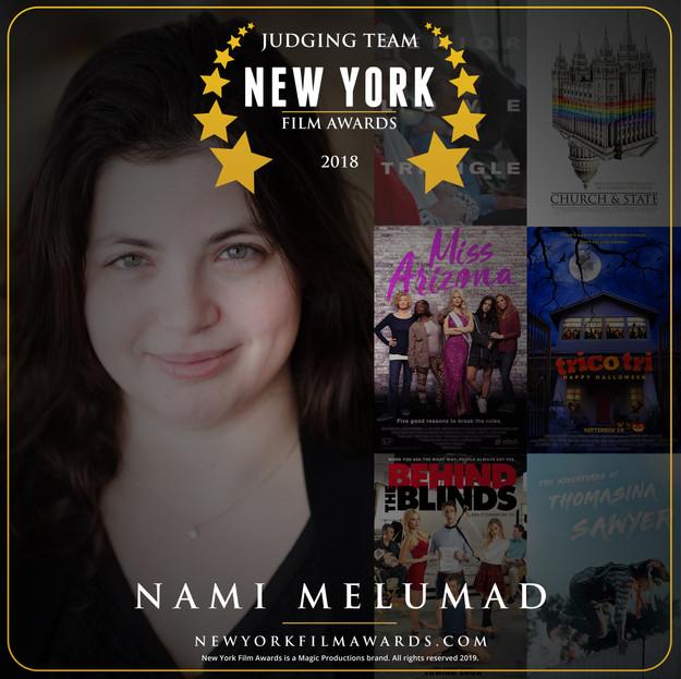 New York Film Awards 2018 Annual Nami Me