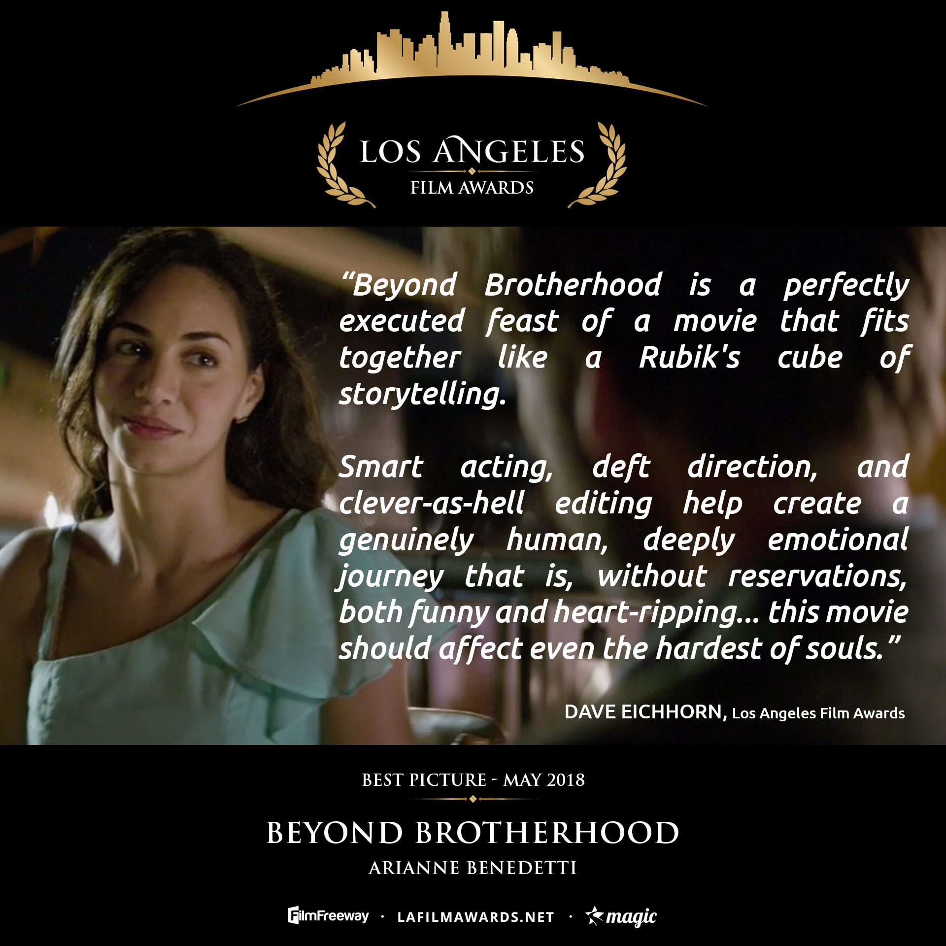 BEYOND BROTHERHOOD - LAFA Best Picture - Review